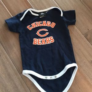 Chicago Bears onesie (12 months) short sleeve